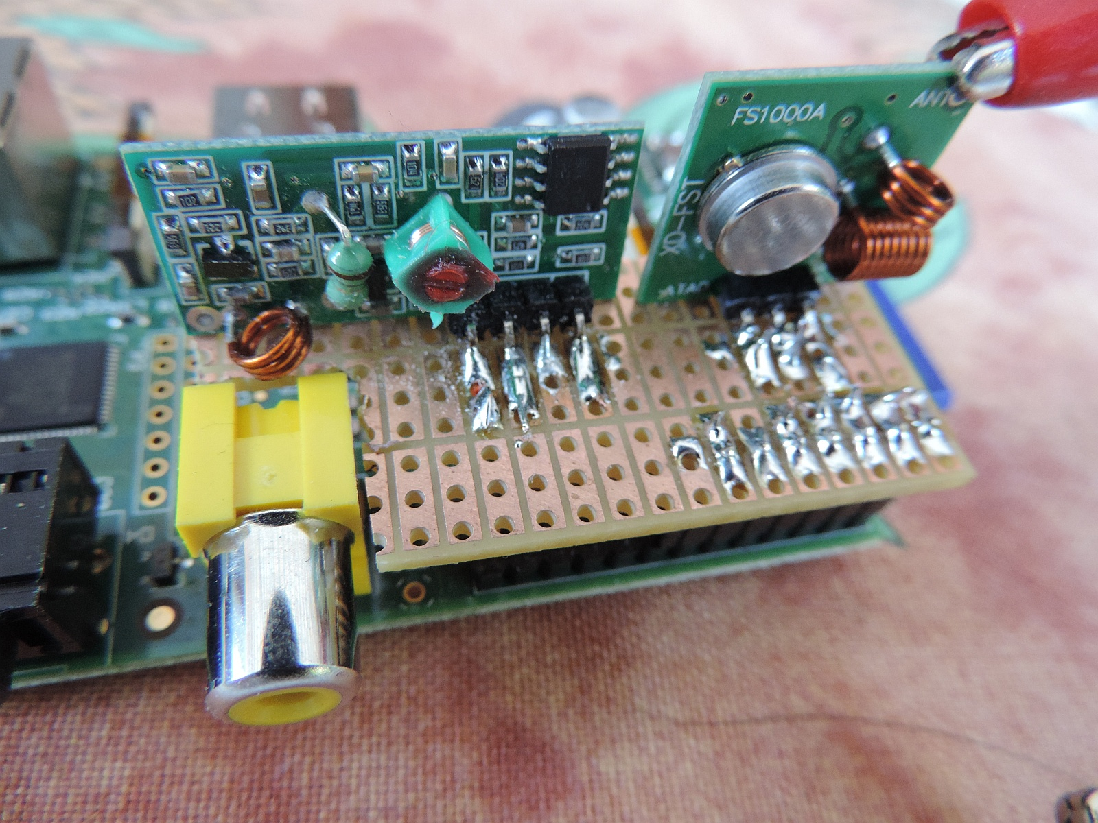 Hardware Guide 433mhz Receiver Circuit Esp8266 Copy Frankly I Love These Sets As For Just 10 Can Make At Least 5 Prototype Boards And See Which One Fits My Pi Better